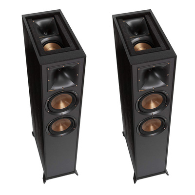 Build your home theater with a pair of Klipsch floorstanding speakers on sale for $549