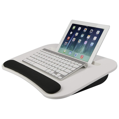 Sit and type with the LapGear eDesk lap desk on sale for $20 in several colors