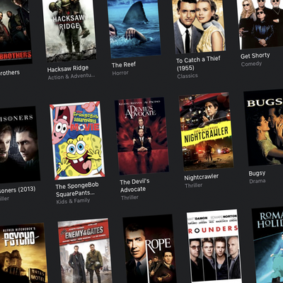 iTunes Digital HD and 4K film sale