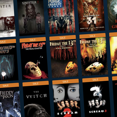 Vudu Friday the 13th Horror Film Sale