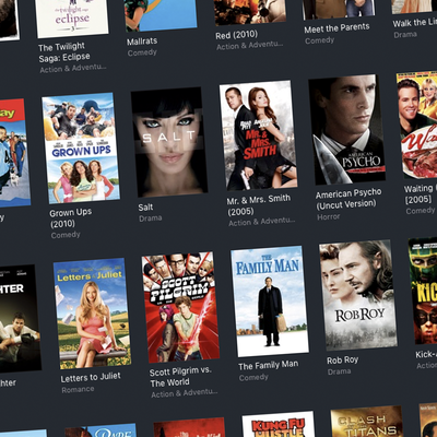 Classic + Recent Movie Anniversaries sale on iTunes