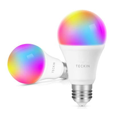 Teckin E27 Multicolor Smart Light Bulb 2-Pack