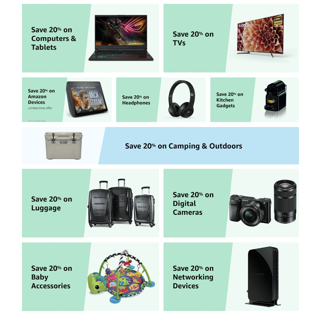 Scour Amazon Warehouse's deals today to save an extra 20% on tech and more