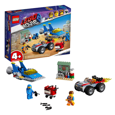 The LEGO Movie 2: Emmet and Benny's 'Build and Fix' Workshop Set