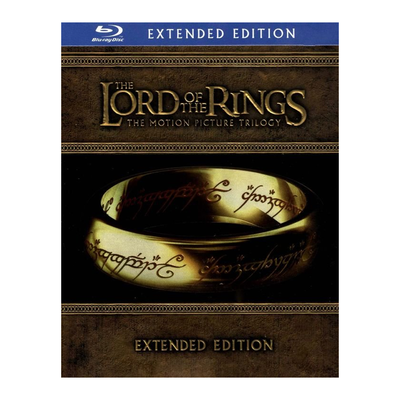 The Lord of the Rings Trilogy: Extended Edition Blu-Ray set