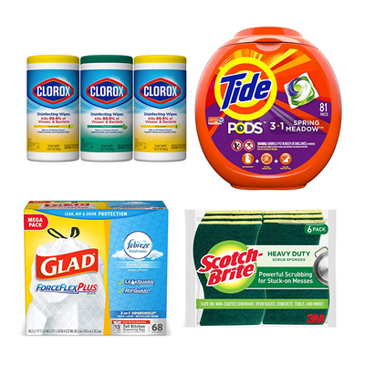 Household essentials: Save $10 when you spend $35