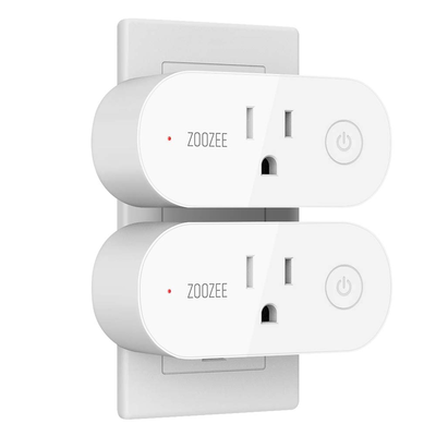 ZOOZEE Mini Smart Plug 2-pack