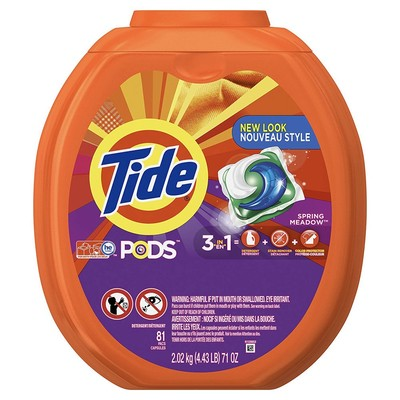Tide pods 3 in 1 he turbo 81 count laundry detergent