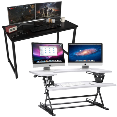 Halter Desk and Sit/Stand Converters sale