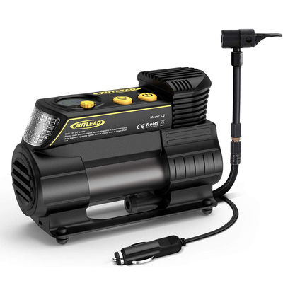 Autlead C2 12V tire inflator portable air compressor