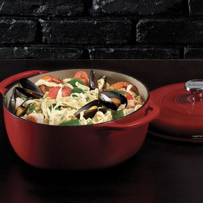 Add Lodge's 6-quart dutch oven to your kitchen while it's on sale for $53