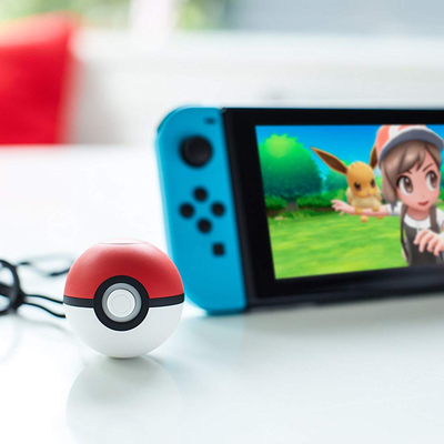 Catch 'em all with almost $10 off the Poké Ball Plus controller for Nintendo Switch