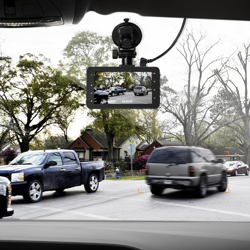 Get it all on video with Apeman's 1080p dashboard camera on sale for $27