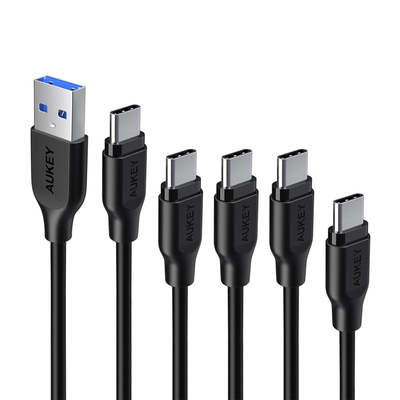 Aukey USB-C Cables (5-pack)