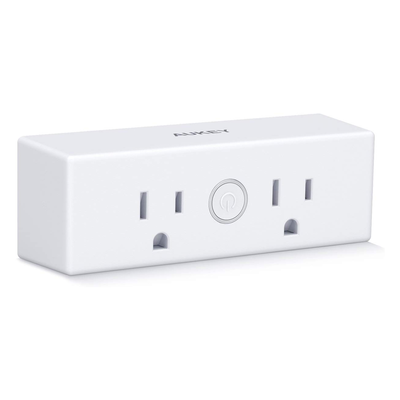 Aukey Mini Smart Plug with dual outlets