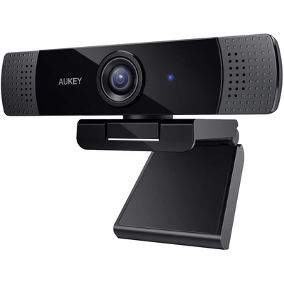 Aukey 1080p USB webcam with stereo microphone