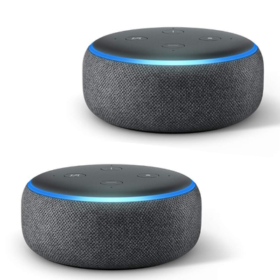 Amazon Echo Dot 2-Pack
