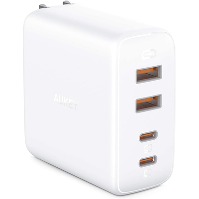 Aukey Omnia 100W 4-port USB-C wallcharger