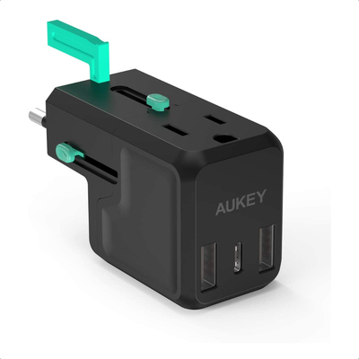 Aukey Universal USB-C Travel Plug Adapter