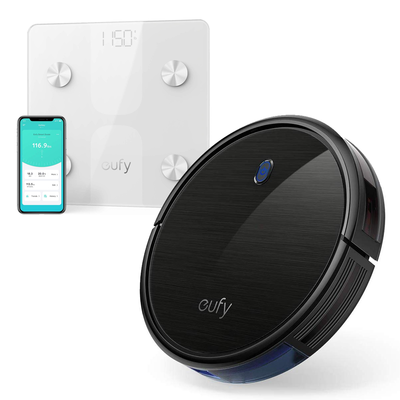 Eufy BoostIQ RoboVac 11S Robot Vacuum Cleaner with free C1 Smart Scale