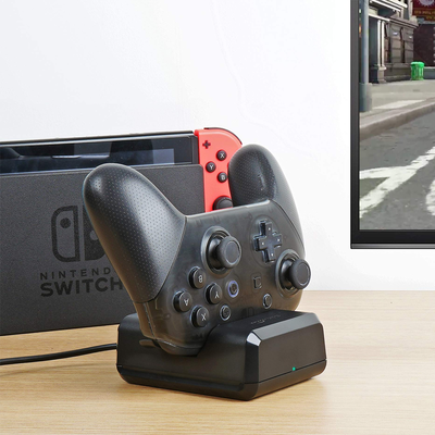 Power your Pro Controller for Nintendo Switch with this charging dock on sale under $9