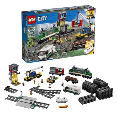 LEGO City Cargo Train Remote Control Building Set