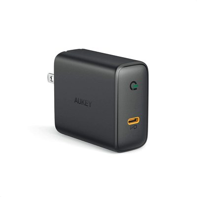 Aukey 60W GaN Power Delivery 3.0 USB-C Wall Charger