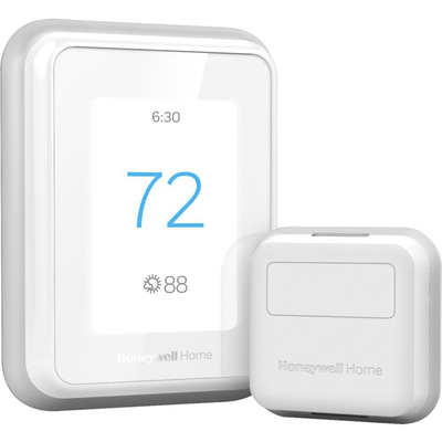 Honeywell Home T9 smart programmable touchscreen thermostat with smart room sensor