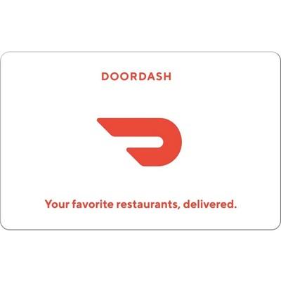 DoorDash $50 digital delivery gift code
