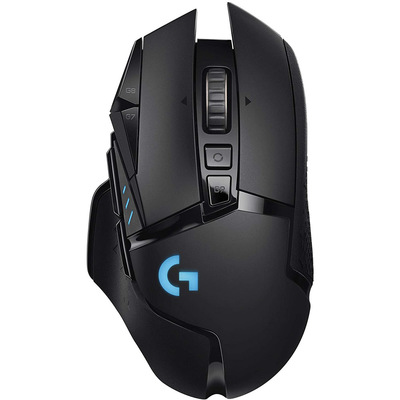 Logitech G502 Hero Lightspeed wireless gaming mouse with 16K sensor