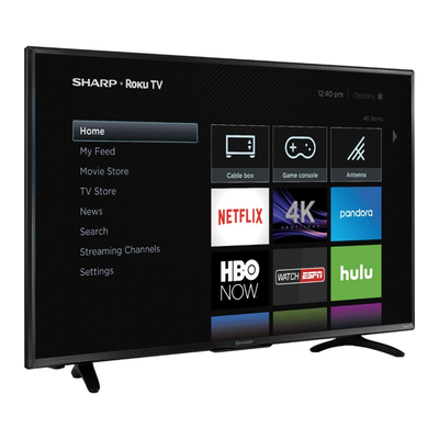 Stream your favorite summer shows with Sharp's 43-inch 4K HDR Roku TV on clearance for $200