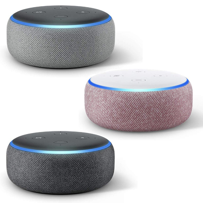 Amazon Echo Dot 3rd-generation smart speaker 3-pack