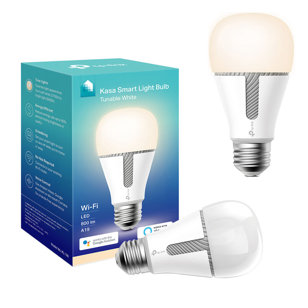 This pair of TP-Link tunable white smart bulbs are down to $28 today only