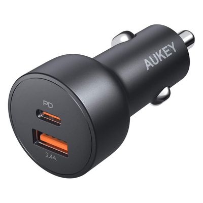 Aukey 30W USB-C Car Charger
