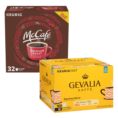 Keurig K-Cups, McCafe Pods, and more on sale