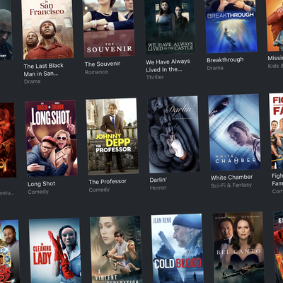 iTunes sale on new films in digital HD and 4K