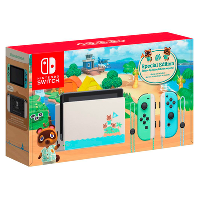Nintendo Switch Animal Crossing: New Horizons Limited Edition console (Refurbished)