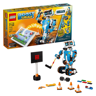 LEGO Boost Creative Toolbox Fun Robot Building Set and Educational Coding Kit