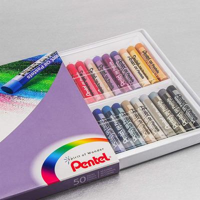 Pentel 50-pack Oil Pastels