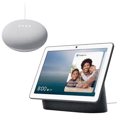 Google Nest Hub Max + Google Nest Mini