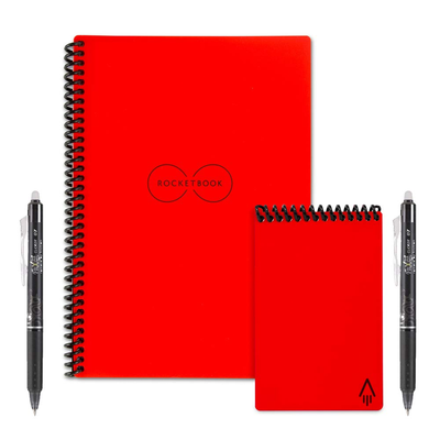 Rocketbook Everlast Executive and Mini Wirebound Notebook set