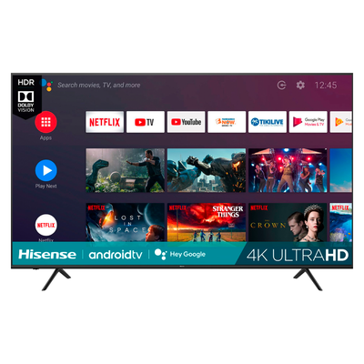 Hisense 75-inch LED 4K UHD Smart Android TV (H6510G Series)