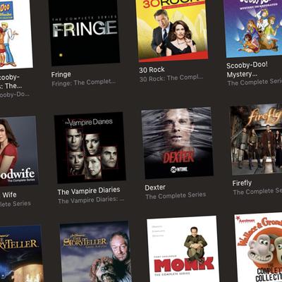 iTunes Complete TV Series Sale in Digital HD