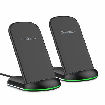 Put a fast wireless charging stand on your desk and your nightstand for under $13 each