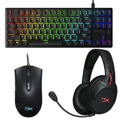 HyperX headsets, keyboards, and mice sale