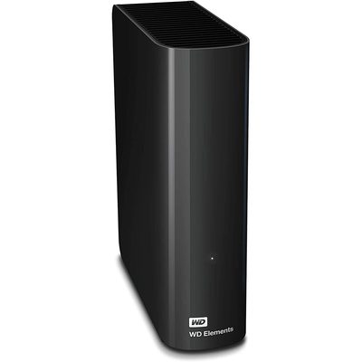 WD Elements 14TB USB 3.0 desktop hard drive black
