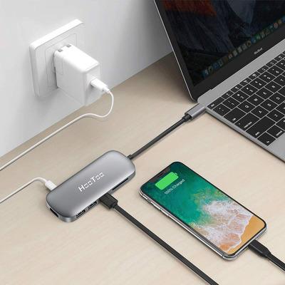 HooToo 6-in-1 USB-C hub