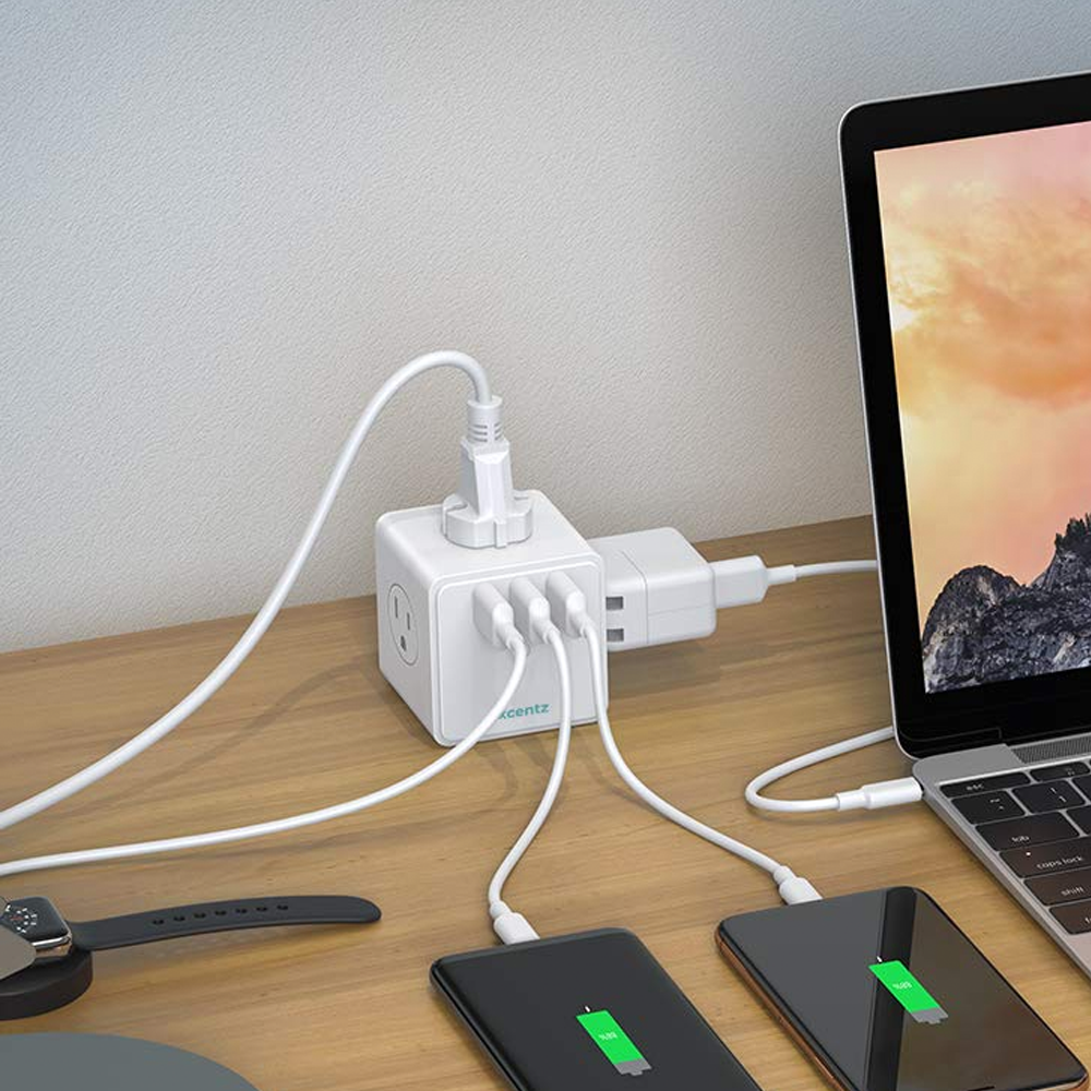 Add more ports to your workstation with this USB power strip down to $16