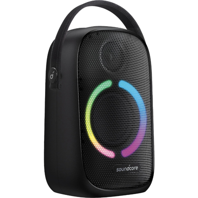Anker Soundcore Rave Neo portable Bluetooth speaker with LED lights