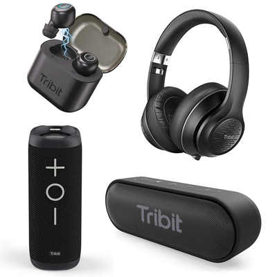 Tribit Bluetooth Speaker and Headphone sale